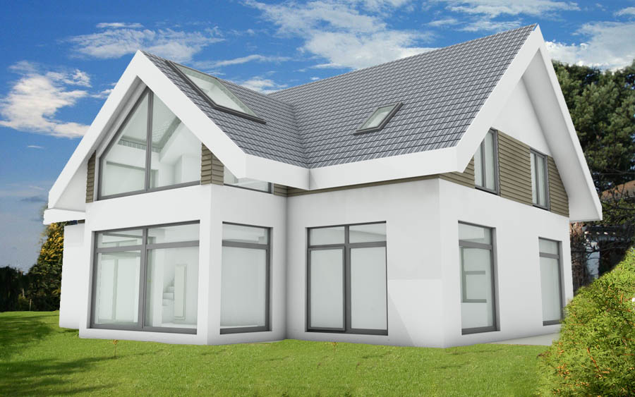bauantrag planungsb ro genehmigungsplanung neubau eigenheim leistungen haubau. Black Bedroom Furniture Sets. Home Design Ideas