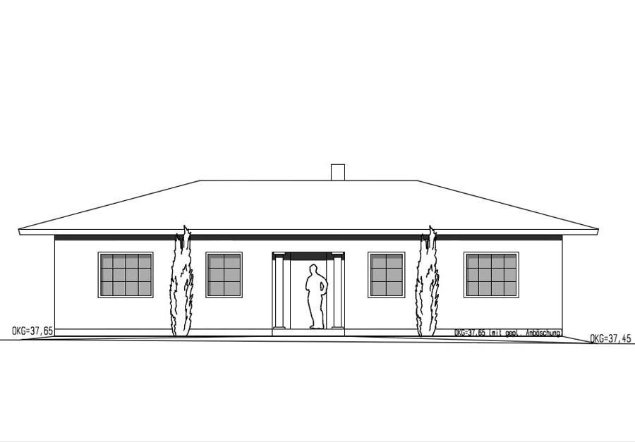 bauantrag planungsb ro genehmigungsplanung ein zweifamilienh user projekte haubau. Black Bedroom Furniture Sets. Home Design Ideas